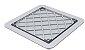 Ralo Linear Square Fit Tampa PVC Oculta 15x15cm - Imagem 1
