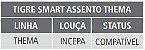 Assento Sanitário Smart Modelo Thema PP Branco Tigre - Imagem 3