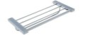 Porta Toalha Rack 45cm Omega Cromado Crismoe - Imagem 1