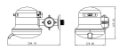 Torneira Elétrica Parede Maxi Fortti 5500w/220v Lorenzetti - Imagem 3
