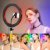 Ring Light RGB Colorido Profissional Youtuber Blogueira C/ Tripé - Imagem 1