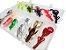 Kit Isca Artificial Trairas - Frog - Sapito - Soft - Anzois - Estojo - Imagem 2