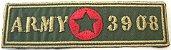 Patch Bordado Termocolante Army 3908 - Imagem 1
