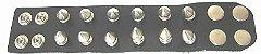 Pulseira Bracelete Rock Spike Rebite e Tachas Madstar - Imagem 2