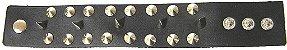 Munhequeira Pulseira Bracelete Rock Spike Rebite e Tachas Madstar - Imagem 3
