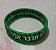 Pulseira Lashon hara lo medaber elai - Verde camuflada - Imagem 1