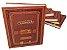 Coleção Chumash Gutnick (5 volumes) Gênesis, Êxodo, Levítico, Numeros e Deuteronômio - Imagem 1