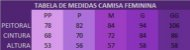 CAMISA FEMININA NEON MESCLA MC - Imagem 3