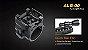 Suporte De Lanterna Para Arma Fenix ALG00 com Gun Mount - Imagem 2