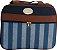 Kit bolsa maternidade 5 peças azul marinho listra - Imagem 2