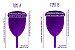 Novo Coletor Menstrual Violeta Cup - Tipo A - Imagem 7