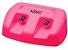 Base Dupla Para Aquecedor De Cera Roll-on Mega Bell Pink - Imagem 1