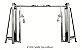Cable Cross Over 2x225lb - Wellness - Imagem 1