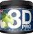 3D PRO WORKOUT 200G MAÇA VERDE - Imagem 1