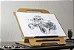 Flip Studio A3 - prancheta/cavalete de mesa para desenho ou pintura em tela - Imagem 2