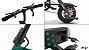 Bicicleta Elétrica Dobrável Mini 350w - 16kg  - Com pedal - Imagem 4