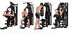 Estação de Musculação com 70kg - DSR - Imagem 4