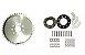 Coroa + Kit fixação 80cc  - Imagem 1