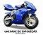 SUPER MINI MOTO GP NINJA 49cc - MODELO DE EXPOSIÇÃO - Imagem 1
