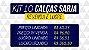 Kit com 10 Calças de Sarja masculina - Oferta! - Imagem 2