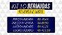 Kit com 10 Bermudas de Sarja masculina - marcas Famosas - Imagem 2