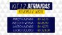 Kit com 12 Bermudas Estampadas - Imagem 2