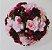 Buquê de Noiva Camélia Grande Marsala e Rosa  - Imagem 2