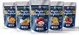 Kit Snacks Liofilizados - Abacaxi, Banana, Manga, Maçã e Morango (5 pacotes de 20g cada) - Imagem 1