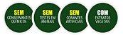 Creme Dental Contente Natural com ingredientes orgânicos e SEM FLÚOR 80g. - Imagem 2