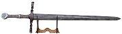 Espada The Witcher III Steel Sword Wolf  (Réplica de Madeira)  - Imagem 1