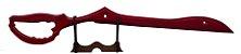 Espada Tesoura Scissor Blade Kill la Kill (Réplica de Madeira) - Imagem 1