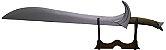 Orcrist - Espada Thorin Escudo de Carvalho | O Hobbit (Réplica de Madeira) - Imagem 1