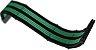 Kit 3 Cabos Sleeved Rise Mode Preto e Verde - RM-SL-01-BG - Imagem 2
