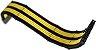 Kit 3 Cabos Sleeved Rise Mode Preto e Amarelo - RM-SL-01-BY - Imagem 3