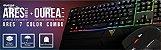 Kit Gamer Gamdias TECLADO RGB - MOUSE - ARES 6011 - Imagem 5