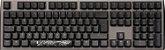 Teclado Mecânico Ducky Channel Shine 7 Gunmetal RGB Backlight Cherry Blue - Imagem 1