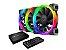 Kit Cooler Fan Cougar Vortex RGB HPB 120 PWM Cooling Kit - 3MHPBKIT.0001 - Imagem 1