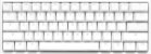 Teclado Mecânico Ducky Channel One 2 Mini Pure White RGB 60% Cherry Brown - Imagem 2
