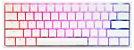 Teclado Mecânico Ducky Channel One 2 Mini Pure White RGB 60% Cherry Red - Imagem 3