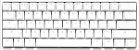 Teclado Mecânico Ducky Channel One 2 Mini Pure White RGB 60% Cherry Red - Imagem 1