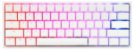 Teclado Mecânico Ducky Channel One 2 Mini Pure White v2 RGB Cherry Brown - DKON2061ST-BUSPDWWT1 - Imagem 1