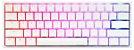 Teclado Mecânico Ducky Channel One 2 Mini Pure White v2 RGB Cherry Red - DKON2061ST-RUSPDWWT1 - Imagem 1