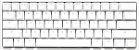 Teclado Mecânico Ducky Channel One 2 Mini Pure White v2 RGB Cherry Red - DKON2061ST-RUSPDWWT1 - Imagem 2