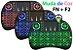 Mini Teclado Led Sem Fio Wirelles C/ Luz P/ Tvbox E Smart Tv - Imagem 3