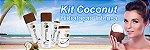Kit Coconut Oil Profissional Hidratação Intensa Wgw Lanzy - Imagem 6