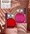 Perfume Dazzle Vermelho - Imagem 1