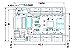 Receiving Card TF-RB01 Para Painel de LED K2569 - Imagem 2
