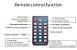 Kit Controle Remoto IR para Controladora Huidu HD- x6xx Mono Bi RGB K2838 - Imagem 2