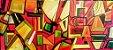 Quadro Pintura em tela Abstrato Moderno  - Imagem 1