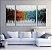 Quadro Decorativo Pintura em Tela Abstrato Moderno - Imagem 1